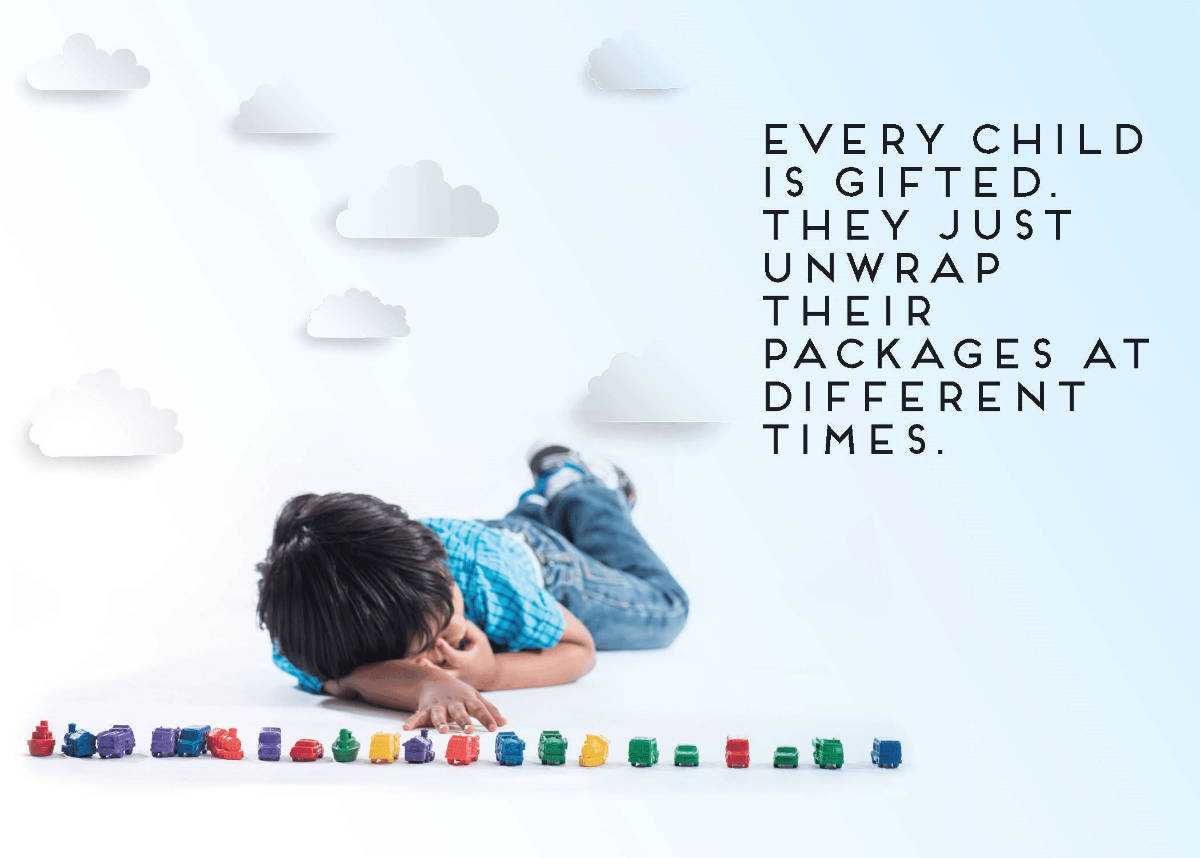 every child is gifted they just unwrap their packages at different times-1200